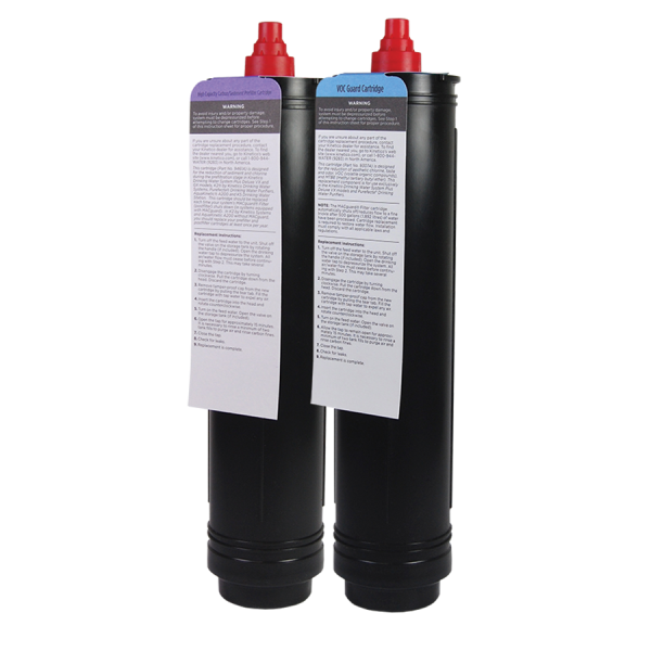 Pre And Post Replacement Water Filter Cartridges For