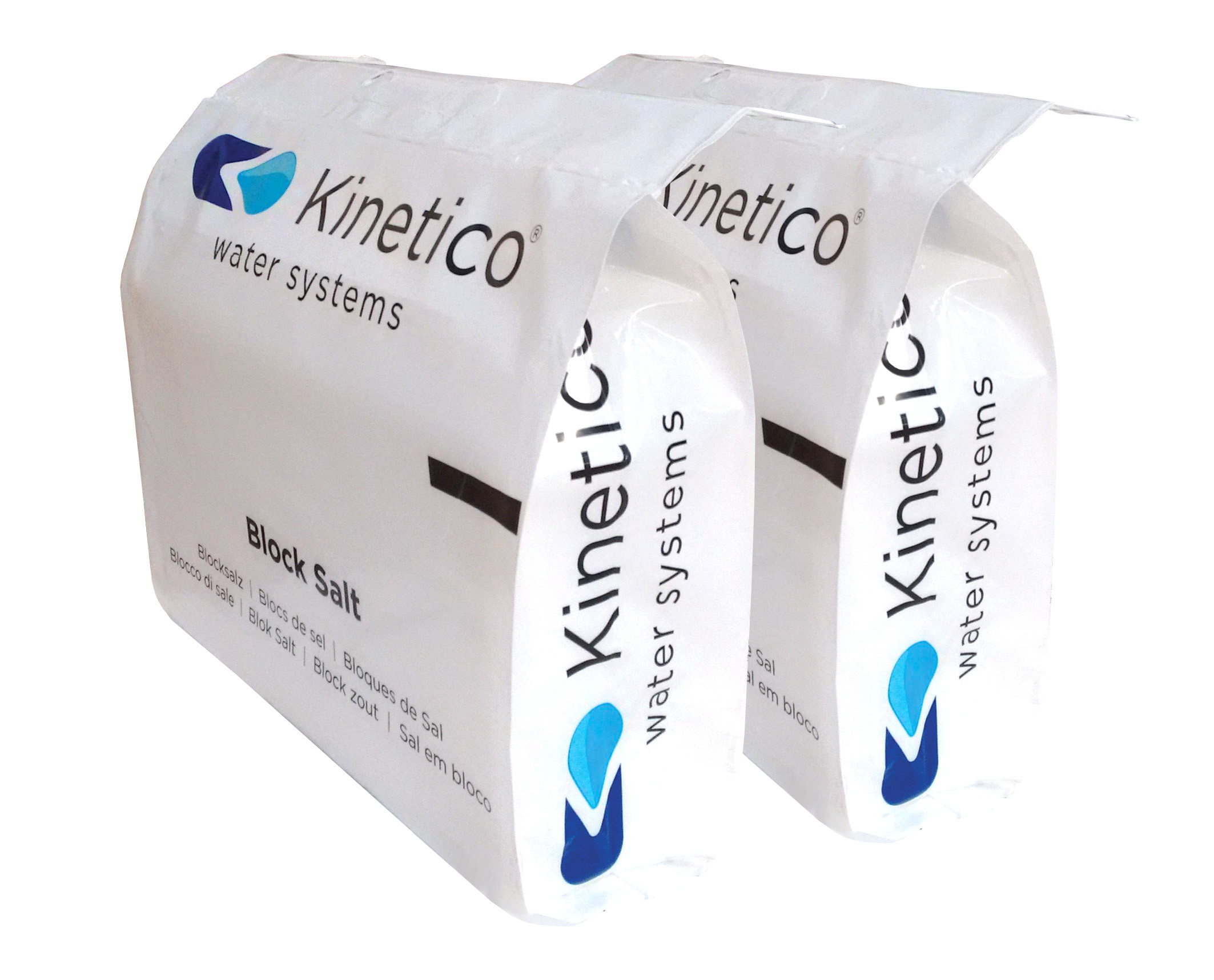 20 Bags Kinetico Block Salt Simply Soft